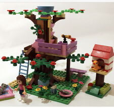 LEGO Friends Olivia's Tree House (3065) Complete Instructions No Box