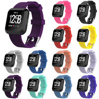 Soft Silicone Replacement Sport Wristband Watch Band Strap Belt for Fitbit Versa
