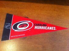 Carolina Hurricanes FELT NHL HOCKEY PENNANT! FREE SHIPPING!