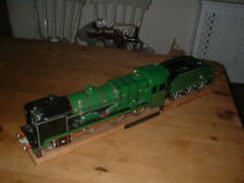 LARGE AMAZING MATCHSTICK MADE MODEL STEAM TRAIN LOCOMOTIVE LMS UNKNOWN WARRIOR