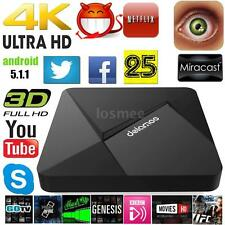 Dolamee D5 Android 6.0 TV Box Quad Core 8GB WiFi 4K 1080P Media Player Streaming