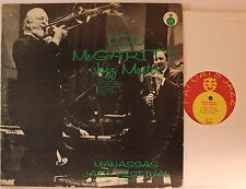 Lou McGarity – Jazz Master - Manassas Jazz Festival December1970 - LP1972 USA