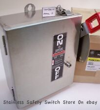 GE Stainless THN3361SS 30a 600v Mod.13 Safety Switch Non-Fused 149 Available New