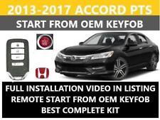 Plug And Play Remote Start Fits 2013 2017 Honda Accord Push To Start Fits Honda