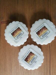 Yankee Candle All Is Bright Wax Melts X 3 New Genuine