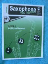 AMEB Saxophone For Leisure Series 1 Grade 4  Piano Accompanment Book Like New
