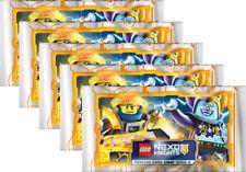 LEGO Nexo Knights 2 - Trading Cards - 5 Booster - Deutsch