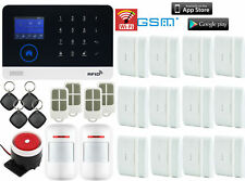 H72 WIFI APP GSM Wireless Home/Office Security Alarm Burglar System+RFID Access