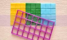 Multi square grid cutter cake cupckaes fondant UK Seller