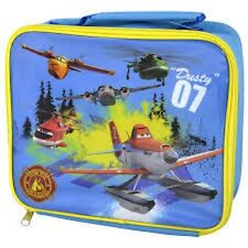 "Official Disney ""PLANES""DUSTY Rectangle Insulated Back To School Blue Lunch Bag"