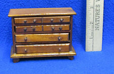 Dollhouse Miniatures Furniture Bedroom Dresser 4 Drawers That Open