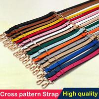 Leather Replacement Adjustable Shoulder Crossbody Strap Handbags Purse CROSS
