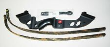New PSE Archery Coyote 2 Recurve Bow 60 inch 45 lbs Black with Camo Limbs