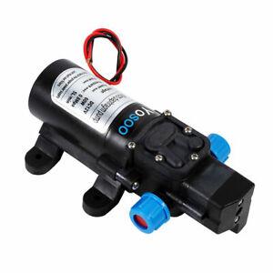 12V 115psi Water Self-Priming Pressure Pump for RV Caravan Camping Boat