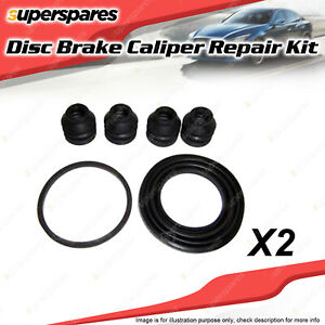 2 x Front Disc Brake Caliper Repair Kit for Ford Courier PB PC PD 4Cyl 1985-1999