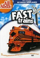 All About Fast Trains & All About Airplanes [New DVD]