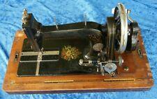 Antike kleine   SIMPLEX   Handkurbel   Nähmaschine