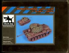 Blackdog Models 1/35 M48A3 TANK SANDBAGS ACCESSORIES SET Resin Set