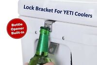 Compatible Cooler Lock with Bottle Opener Bracket 316L for Yeti/RTIC Highest ...