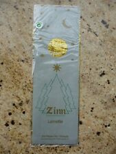 Vintage Christmas Tree Lametta Icicles Gold Foil Tinsel Zinn Germany New in Pkg