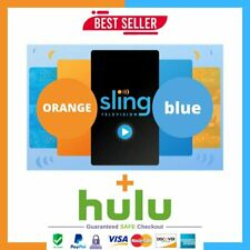 Slingtv Orange and Blue + extras + Gift   3 Years Warrant Fast Delivry
