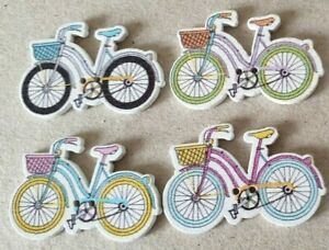Bicycles - Trains+Lots of Other Themes-Crafts Button Packs From 99p-Uk FREEPOST