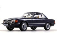 Mercedes-Benz SL R107 Coupe 1971 Year 1/43 Scale Diecast Collectible Model Car