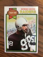 1979 Topps #189 Cliff Branch  Oakland Raiders NrMt