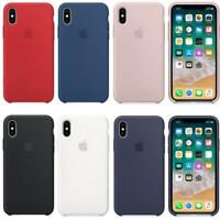 New Original Luxury Hard Silicone Case For Apple iPhone XS Max XR 6S/7/8 Genuine
