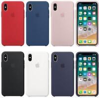 2019 Original Silicone Case Luxury For Apple iPhone XS Max XR 7/8Plus 6S Genuine