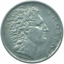 More details for 1926r albania 1 lek shqipni / xf very nice     #wt25255