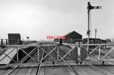 PHOTO  BLACK BANK RAILWAY STATION CAMBS REMAINS 1963 GER ELY ETC - MARCH ETC MAR