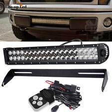 "For Ford F150 20""INCH  LED Work Light Bar Work Spot Flood +Bupmer Mount Brackets"