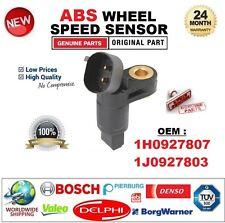 Pour 1H0927807 1J0927803 2-PIN ABS Roue Capteur De Vitesse Essieu Avant à Gauche compatible avec VAG