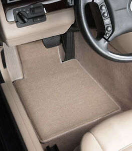 Ultimat Front 2 Piece Carpet Custom Fit Floor Mats 1st Row Lloyd - Color Choices