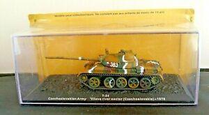 ALTAYA DIECAST 1:72 -T-54 CZECHOSLOVAKIAN ARMY VITAVA RIVER SECTOR (CZECH) 1978
