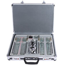 Optical Trial Lens Set Kits 104 pcs Metal Rims in Aluminum Case