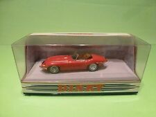 DINKY TOYS DY18 JAGUAR E TYPE MK 1½ 1968  - RED 1:43 - GOOD IN CONDITION  BOX