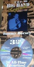 The Big Band Jazz Legends Tommy Dorsey New 3 CD Box Set 36 All Time Favorites