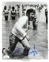 Richard Dreyfuss Signed Autographed 8X10 Photo JAWS B/W Beach Shot JSA LL62178