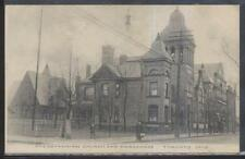 Postcard TORONTO Ohio/OH  Presbyterian Church & Parsonage 1907