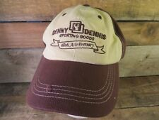 DENNY DENNIS Sporting Goods 60th Anniversary Fenton Missouri Hat Adult Cap