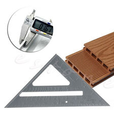 Aluminum Alloy Speed Square Protractor Miter Framing Measurement Measuring Tool