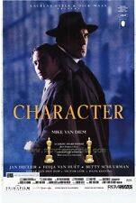 CHARACTER Movie POSTER 27x40 Fredja Van Huet Jan Decleir Betty Schuurman Victor
