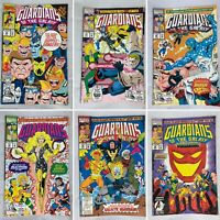 (Lot Of 6) Guardians Of The Galaxy Numbers 29, 31-33, 35-36 Marvel Comics 1992