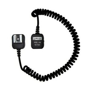 Metz TCC-10 TTL Cable For Canon - Flash Extension Cord with E-TTL II for EOS
