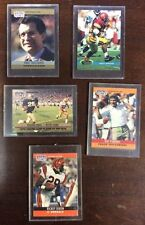 5 Ungraded Football Cards Lot Hard Plastic Cases ShopTradingCards.com