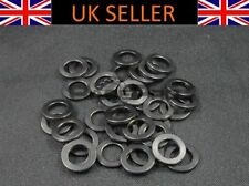 Componentes y piezas negras de titanio para bicicletas