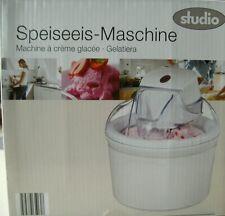 Speiseeismaschine Eiscreme Maschine Ice Cream Maker Sorbet Eismaschine 10517