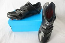 New Shimano Men's SH-XC61L MTB Cycling Shoes EU 43 8.5 Black Carbon SPD